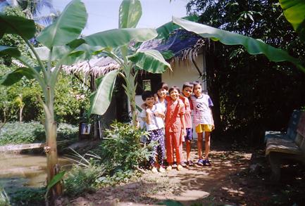 enfants palmier