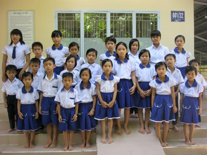 Uniforme en primaire